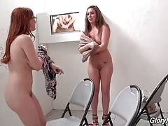 Girlfriends Maddy O`Reilly and Penny Pax enjoy big black dick.